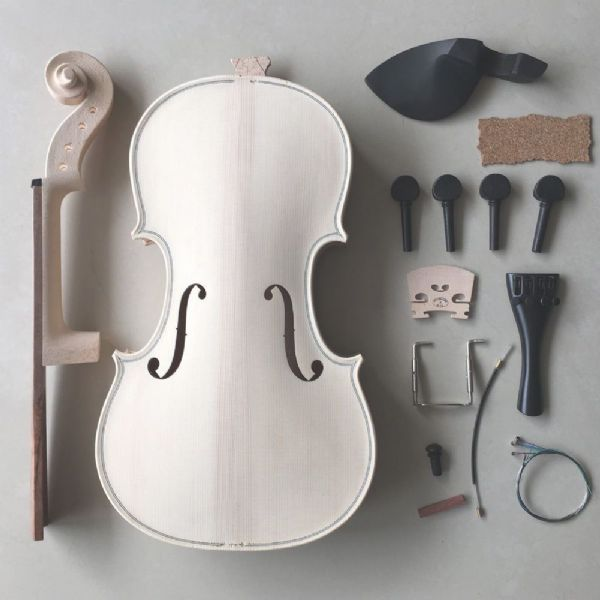 VIOLIN MAKING KIT, ALL PARTS INCLUDED, NEW, GREAT FOR HOME HOBBY, 4/4 FULL SIZE